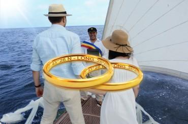 casatoria civila pe mare